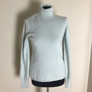 Ann Taylor Cashmere Turtleneck Sweater